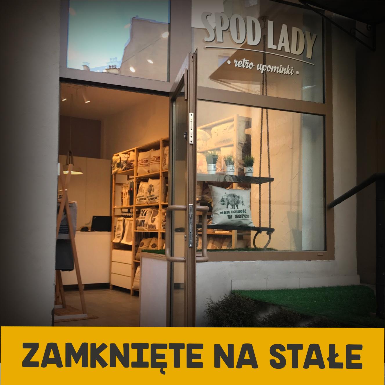 Sklep W Warszawie Spod Lady Retro Prezenty