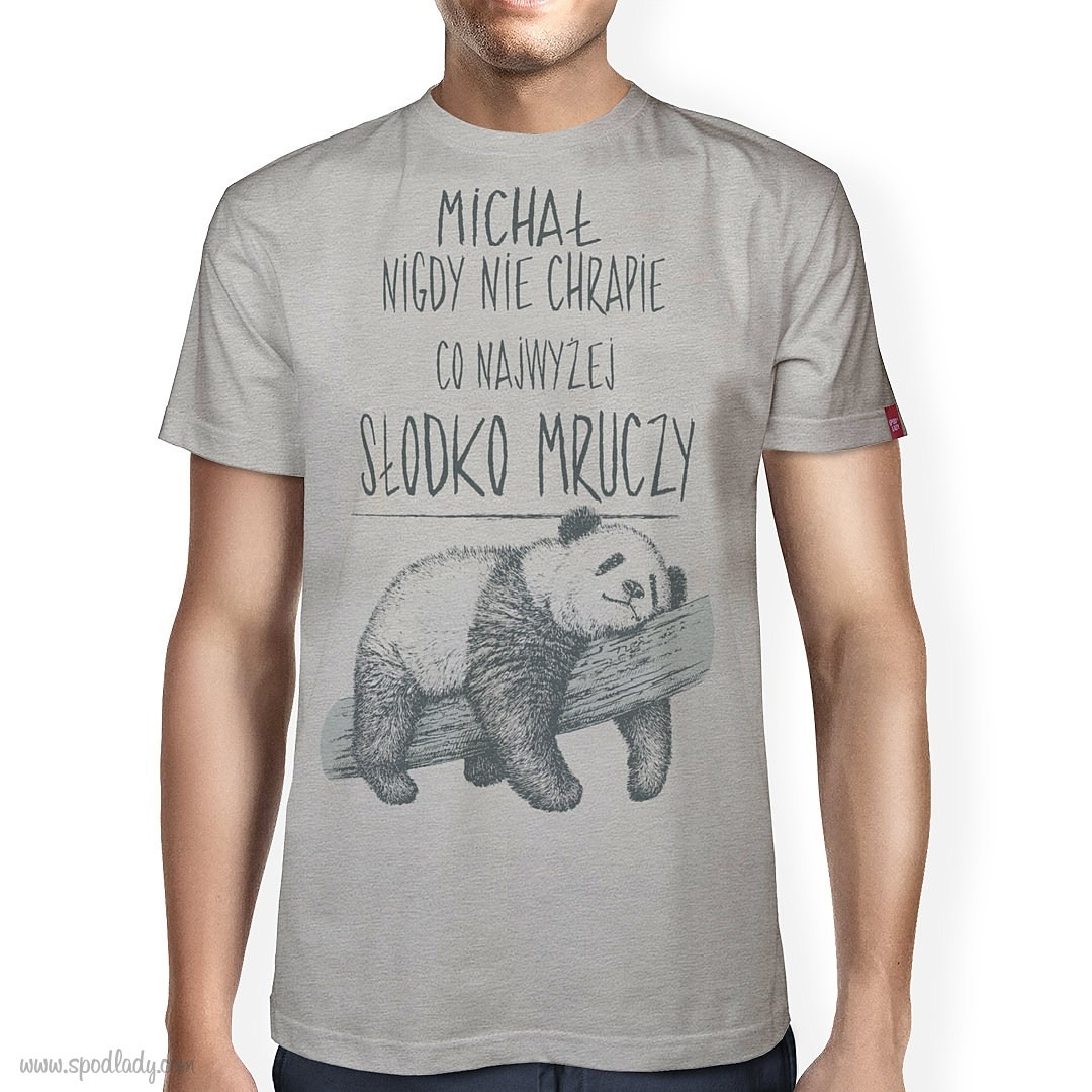 Koszulka męska z imieniem