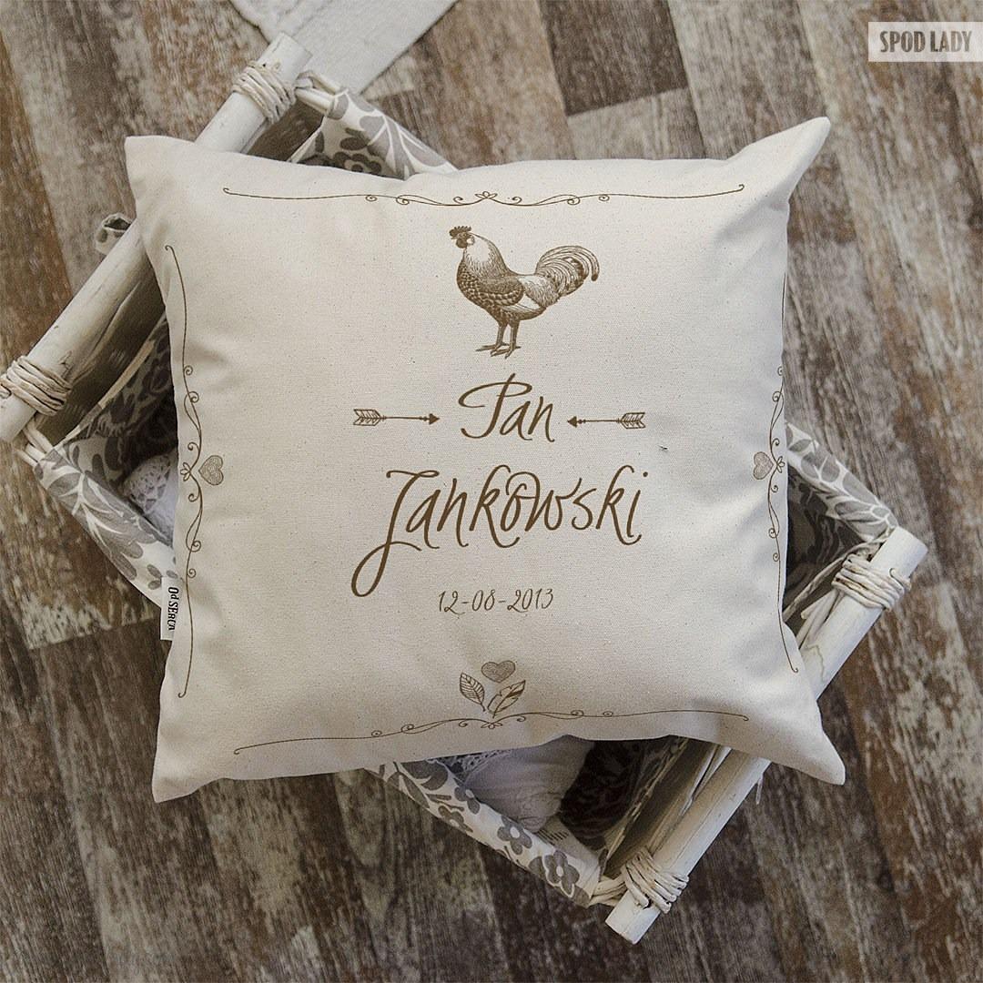 Zestaw poduszek z personalizacją