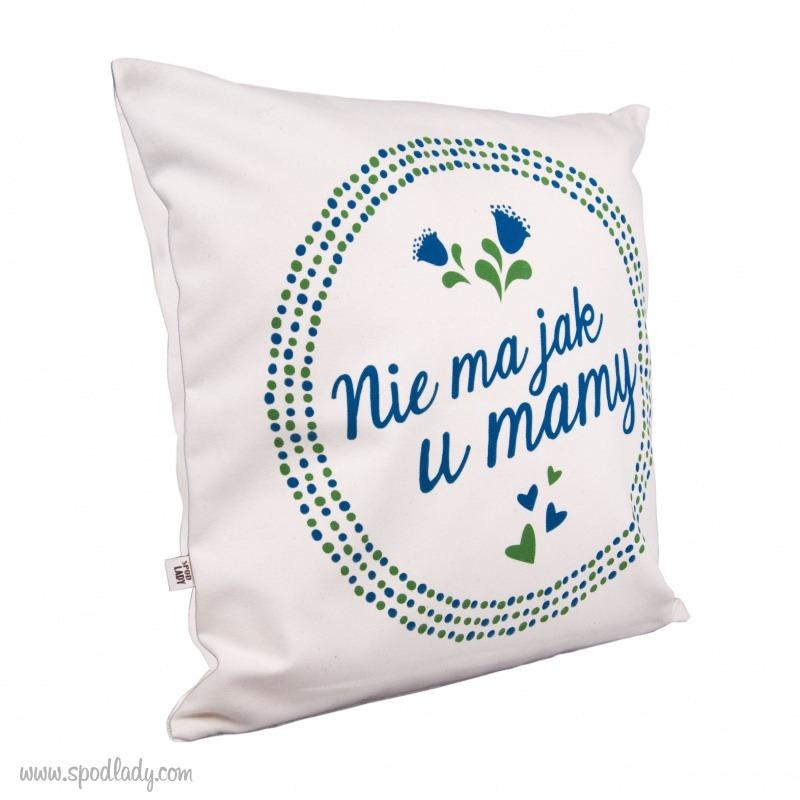 Poszewka na poduszkę na prezent dla mamy.