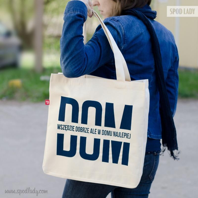 Praktyczny prezent, pojemna torba nie tylko na zakupy.