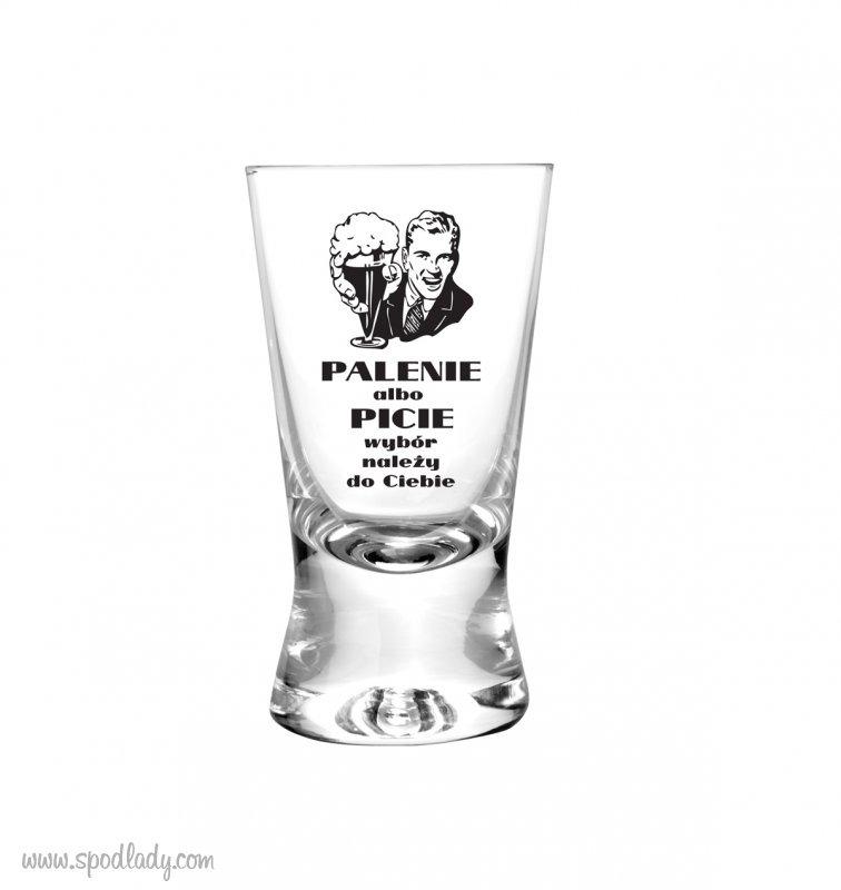 Kieliszki propagandowe jako pomysł dla znawcy alkoholi.