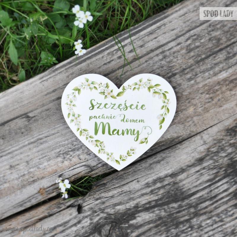 Magnes zaprojektowany z myślą o mamie. Pomysł na prezent od serca dla mamy.