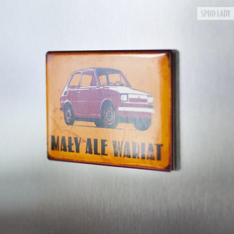 Magnes dla automaniaka, miłośnika Fiata 126p.