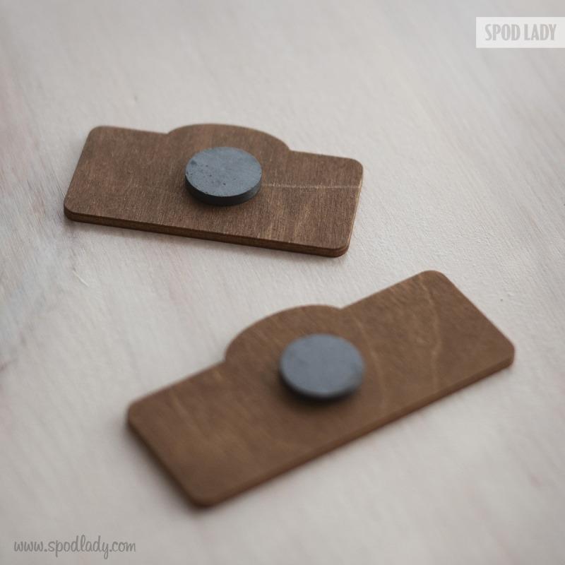 Solidnie wykonane magnesy dla Pań Kierowniczek.