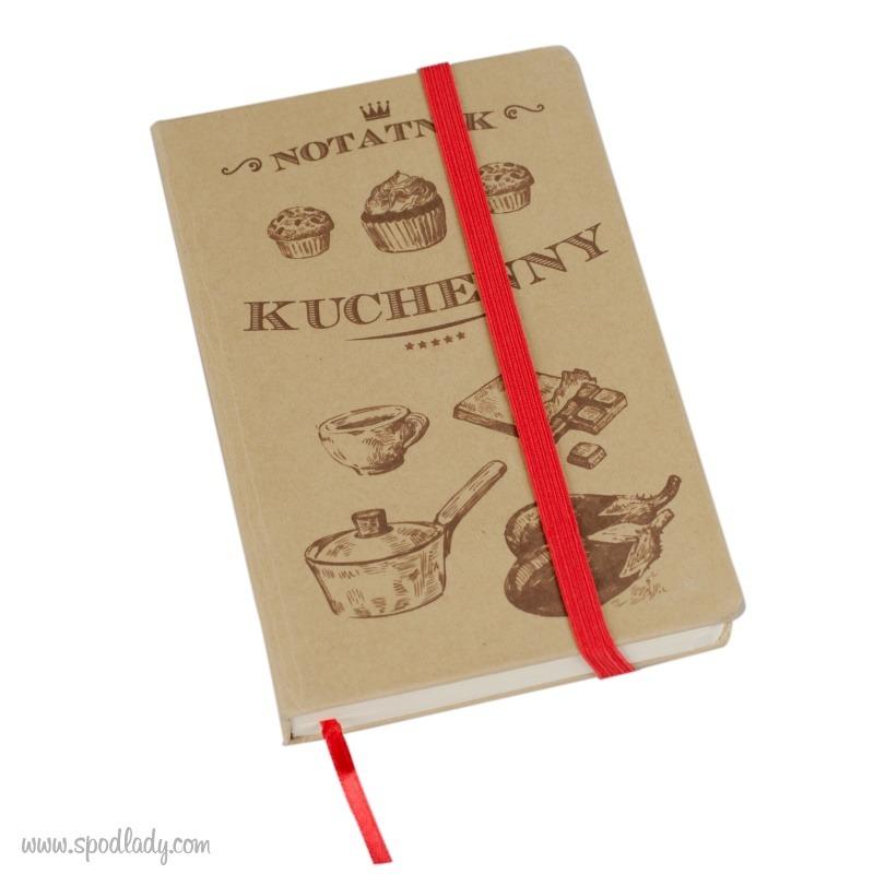 Notatnik kuchenny dla miłośnika gotowania, pomysł na prezent dla kucharza.