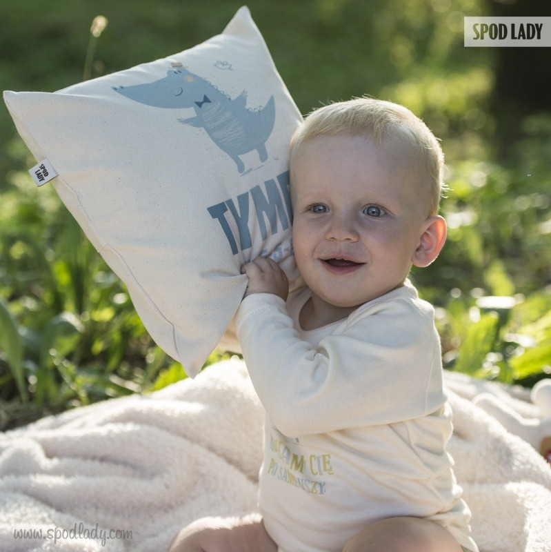 Poduszka dla chłopca. Upominek dla dziecka.