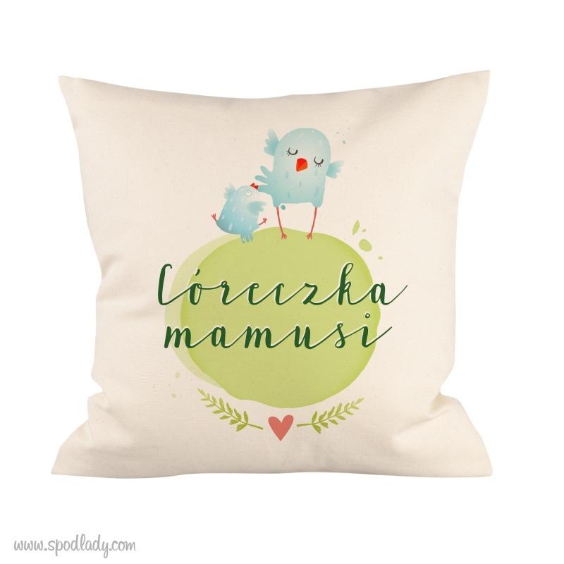 Poduszka dla córeczki. Pomysł na prezent dla mamy i córki.