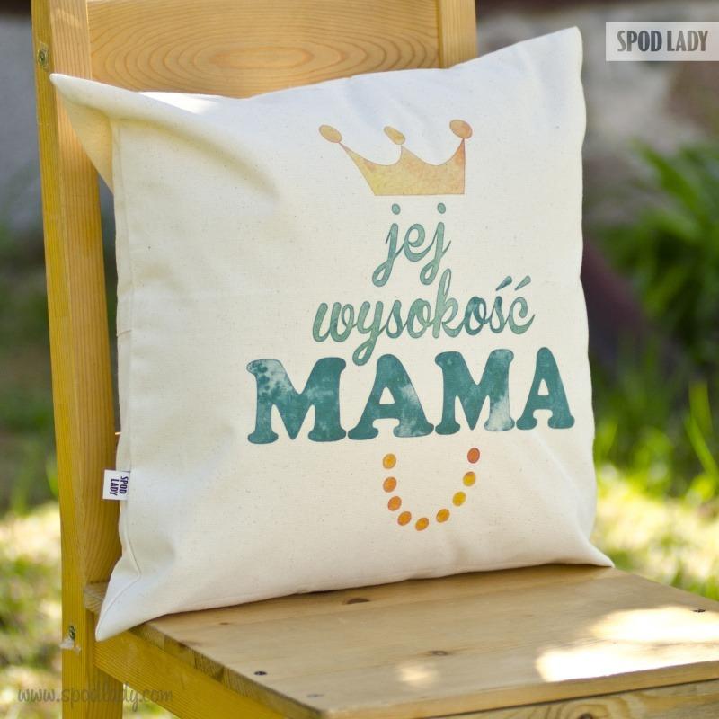 Poduszka na prezent dla mamy. Pomysł na upominek.
