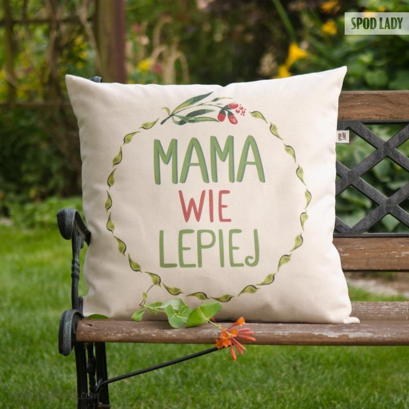 Poduszka na prezent dla mamy.