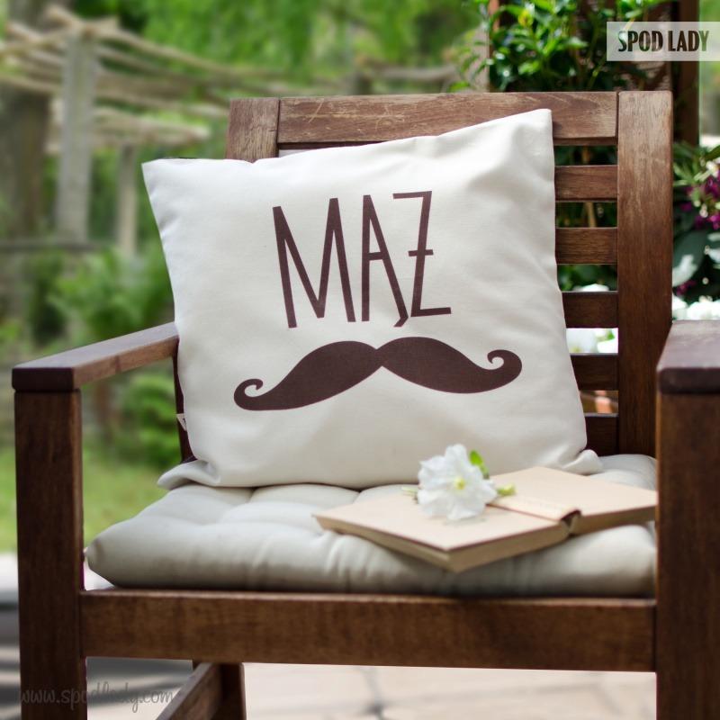Wyjątkowa poduszka dla męża. Prezent z okazji rocznicy ślubu.