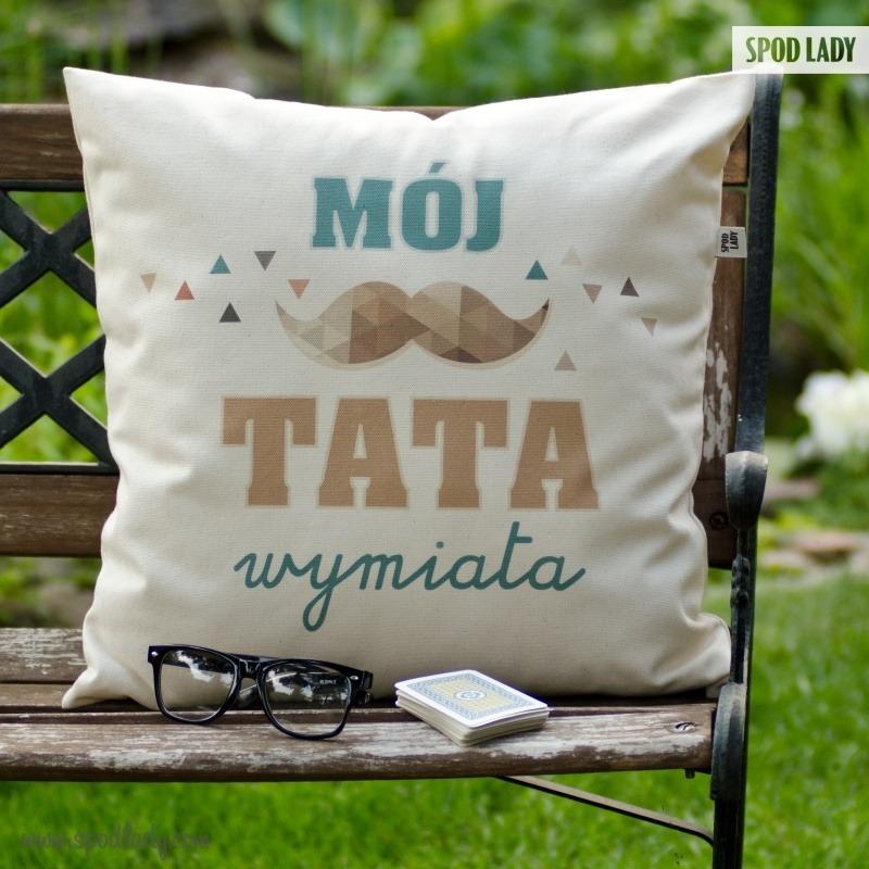 Poduszka dla taty. Pomysł na prezent na Dzień Ojca.