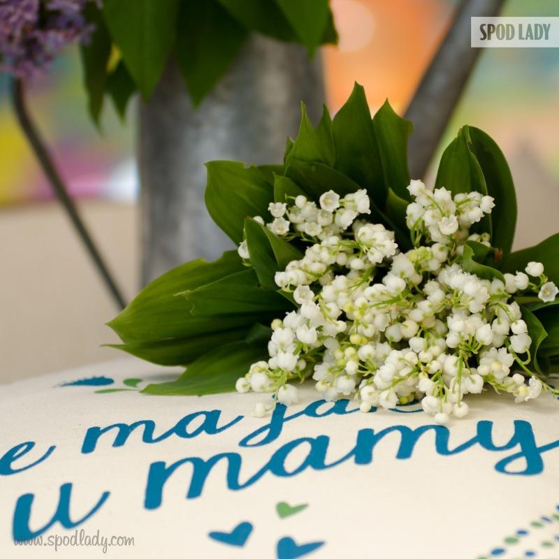 Pomysł na prezent z okazji Dnia Matki. Poduszka z napisem: Nie ma jak u mamy.