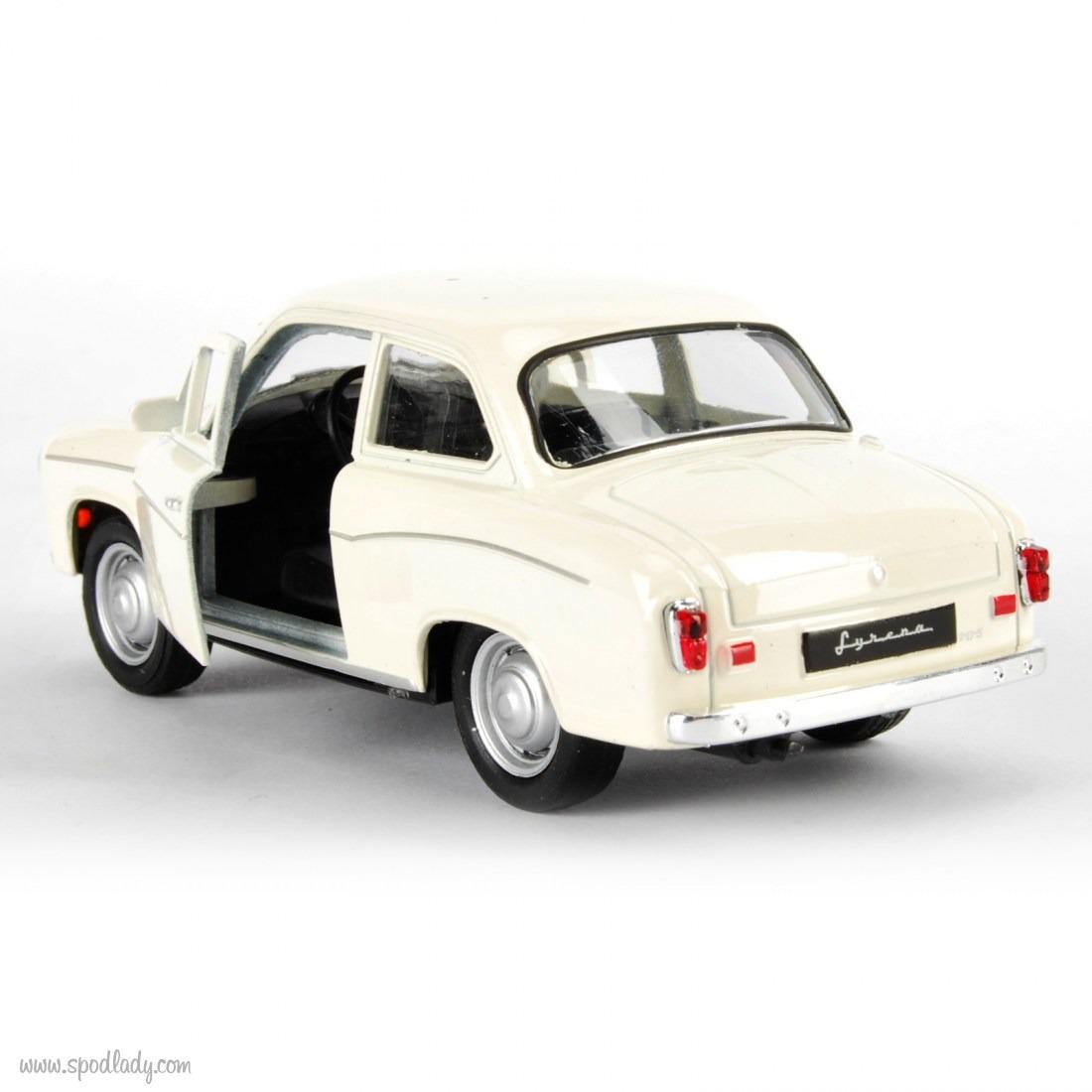Miniaturka samochodu dla miłośnika motoryzacji.