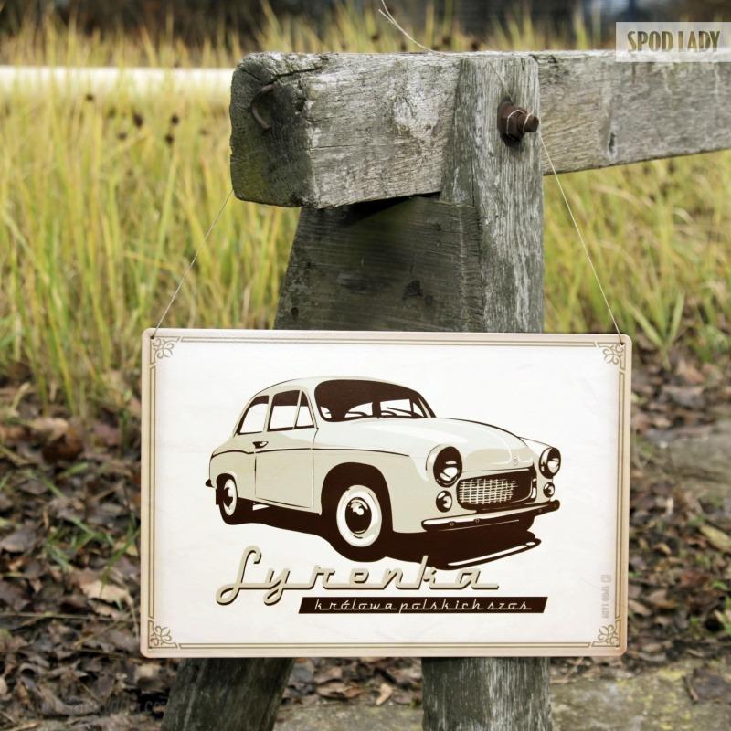 Pomysł na prezent dla miłośnika samochodów w stylu retro.