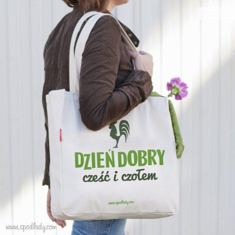 Pojemna torba. Pomysł na upominek.