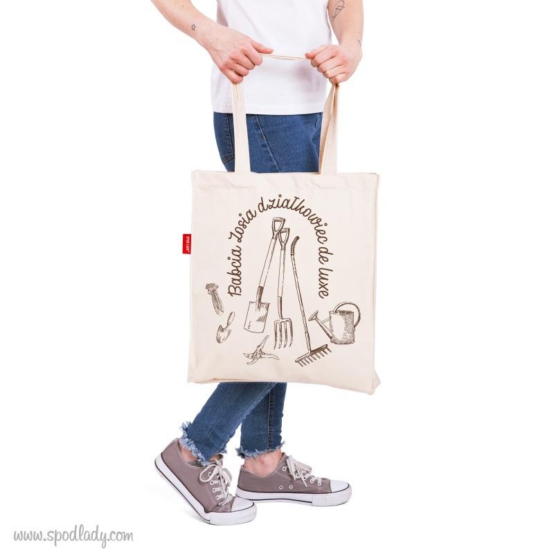 Prezent dla miłośnika działki. Personalizoana torba.