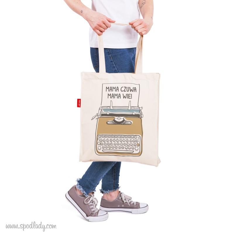 Śmieszna torba na prezent.