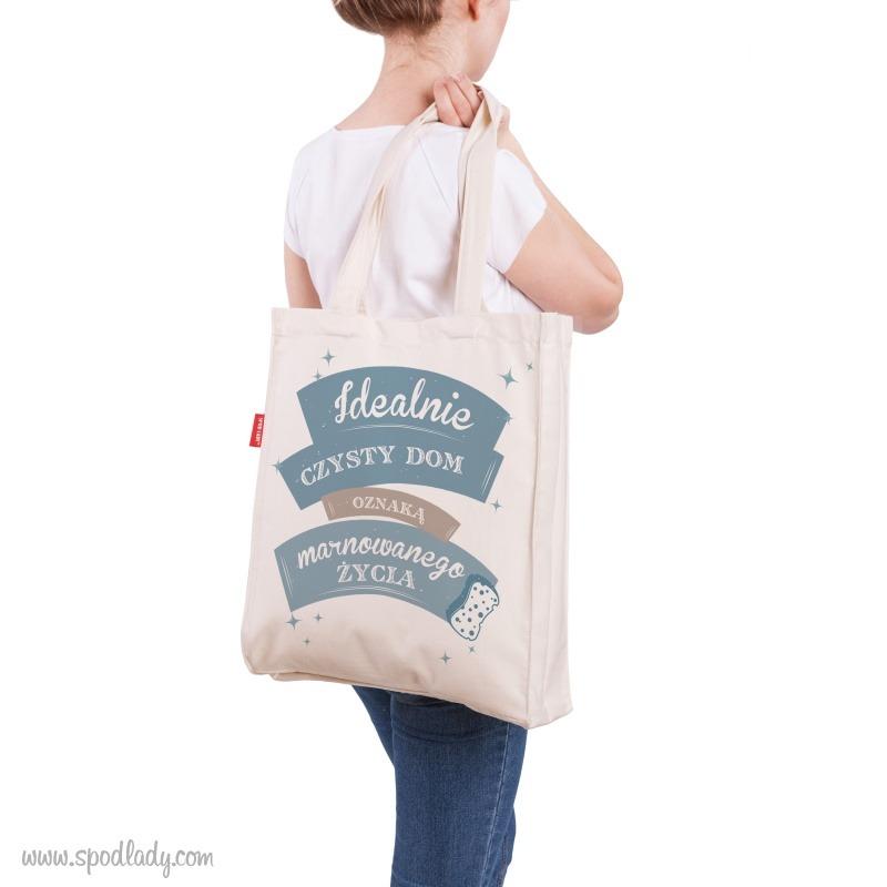 Zabawna torba dla niej. Idealny pomysł na prezent.