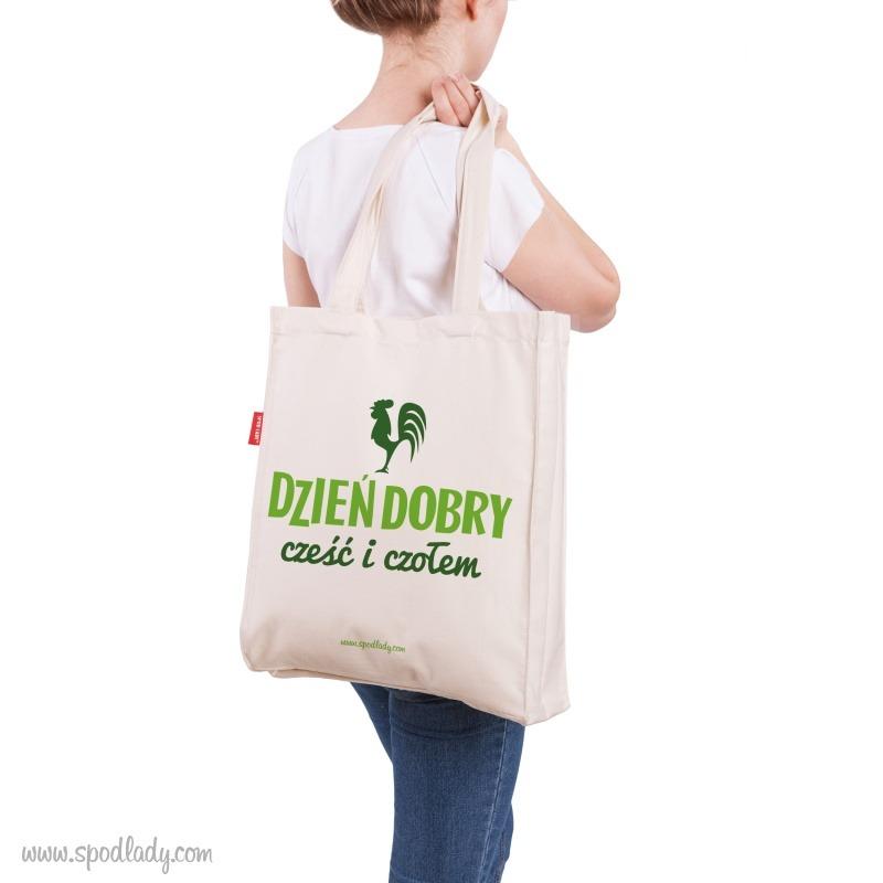 Pomysł na prezent. Pojemna torba na ramię.