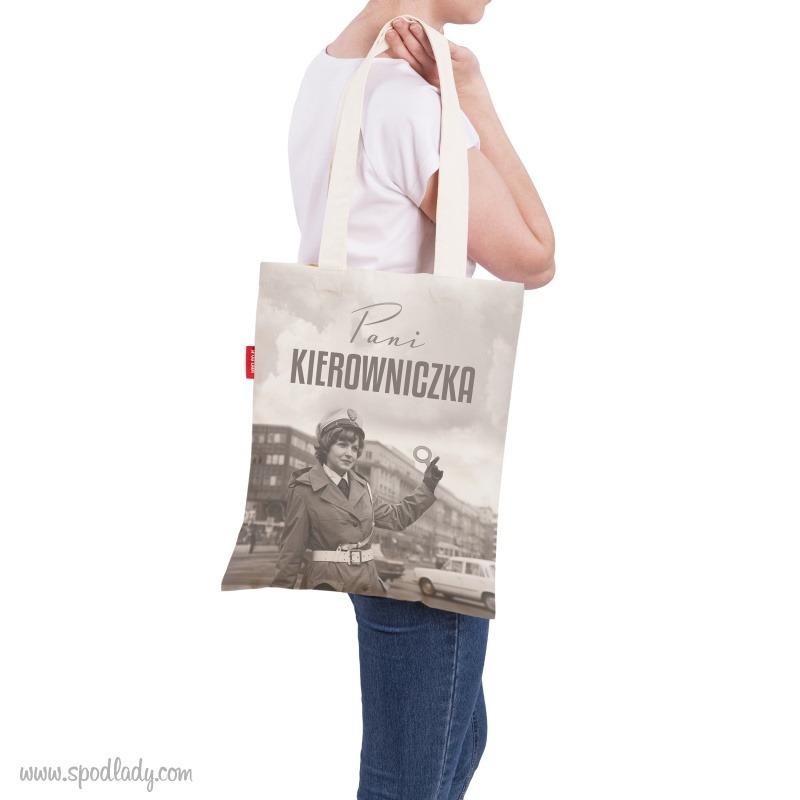 Płaska torba z nadrukiem, pomysł na sympatyczny upominek.