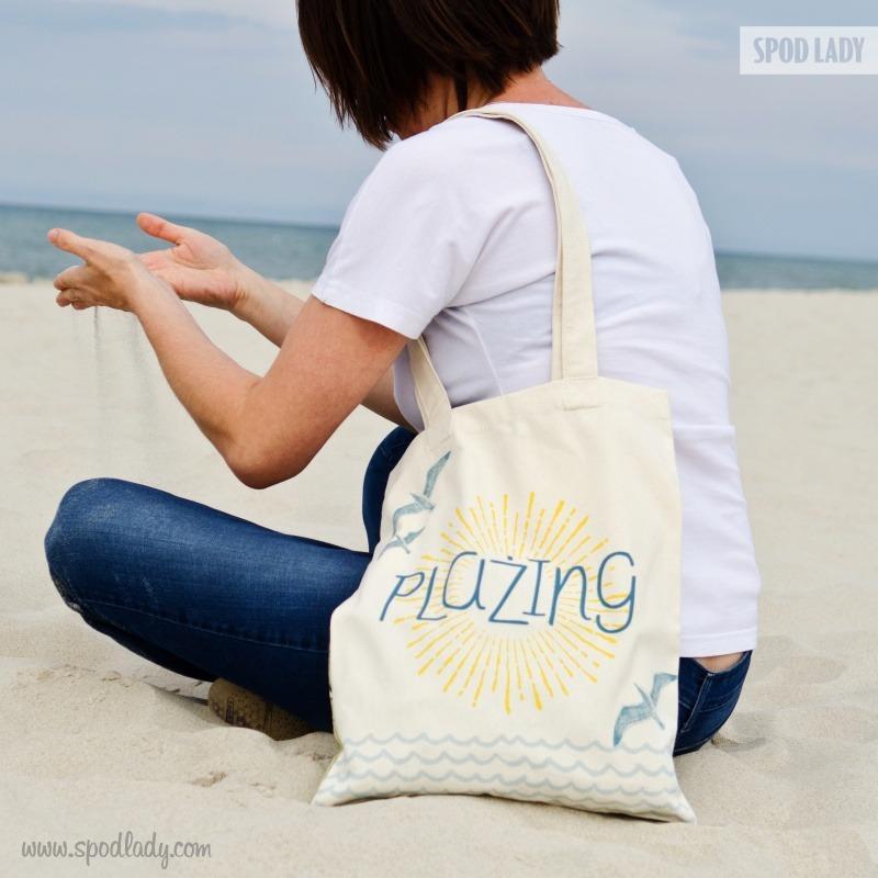 Wakacyjna torba. Prezent dla niej.