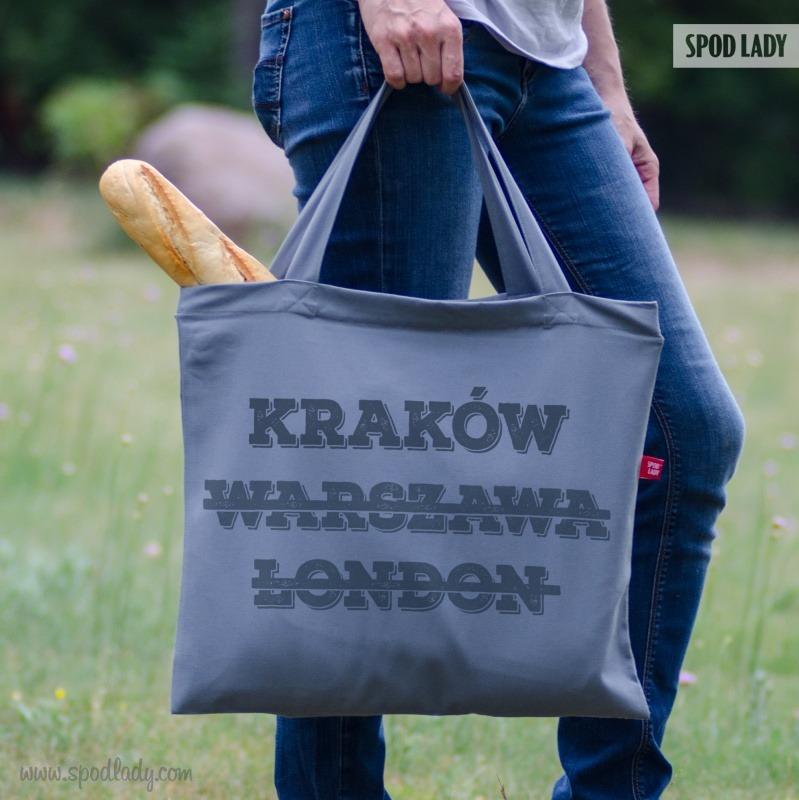 Personalizowania torba z intrygującym nadrukiem. Pomysł na oryginalny prezent.