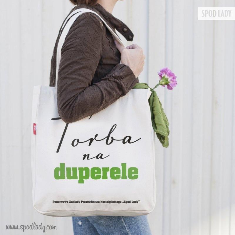 Zabawna torba: Duperele. W sam raz na prezent.