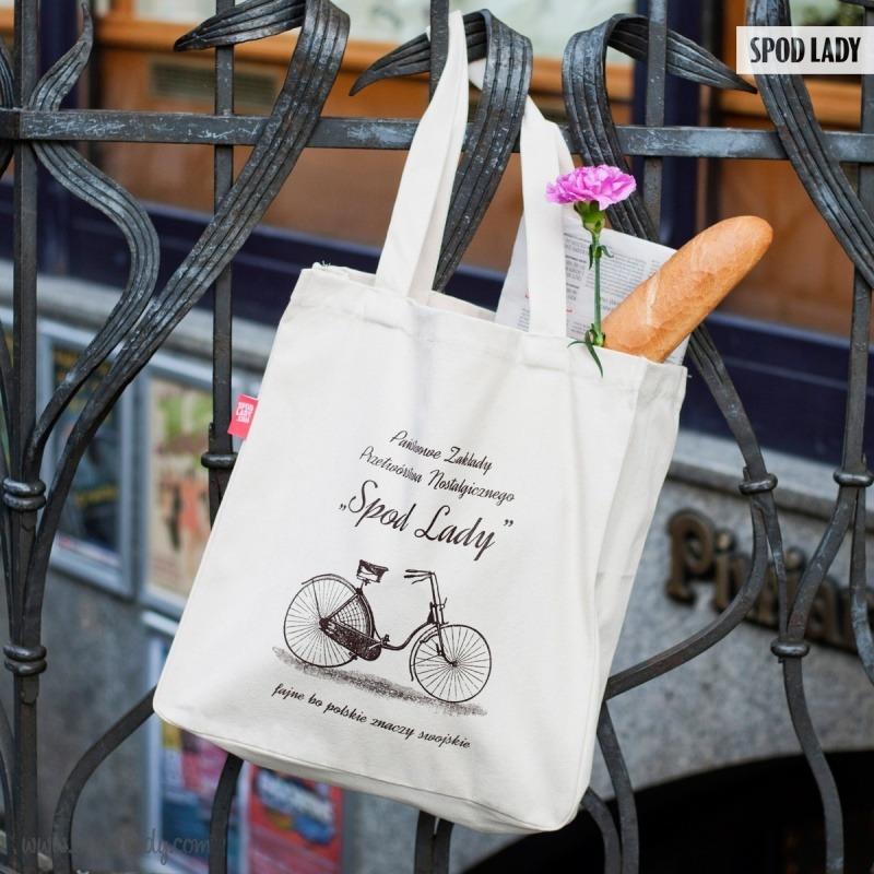 Torba na prezent dla rowerzysty.
