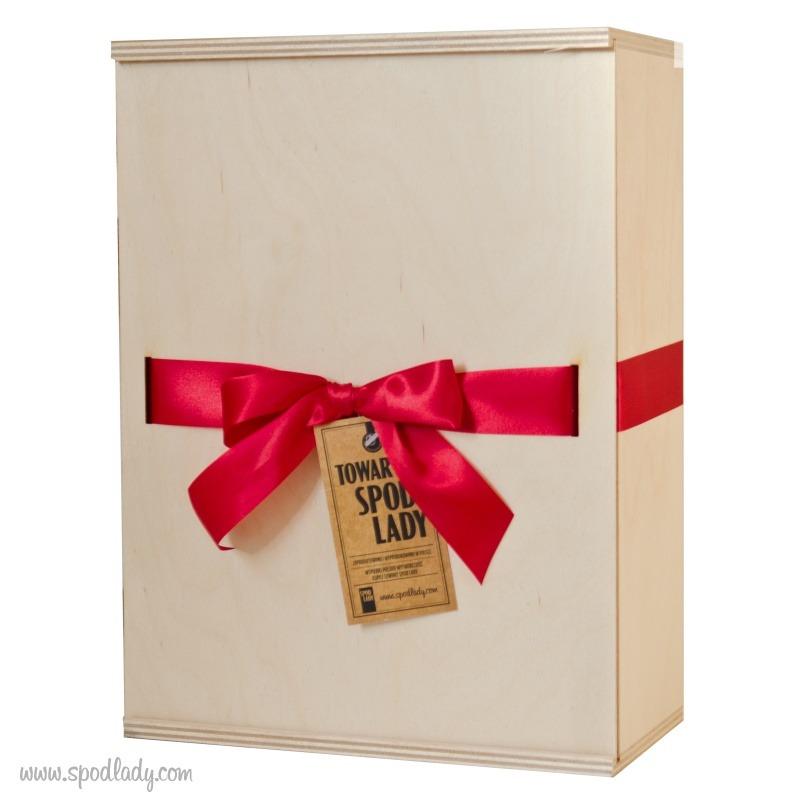 Zestaw kubków barowych w sam raz na prezent.