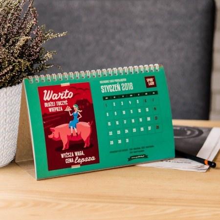 Kalendarz Ludzi Pracuj±cych 2018 - na biurko