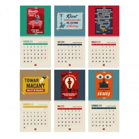 Zestaw dwóch kalendarzy - drugi za po³owê ceny