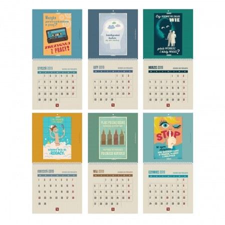 Zestaw dwóch kalendarzy - drugi za połowę ceny