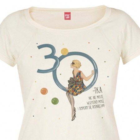 """Koszulka damska """"30-tka"""""""