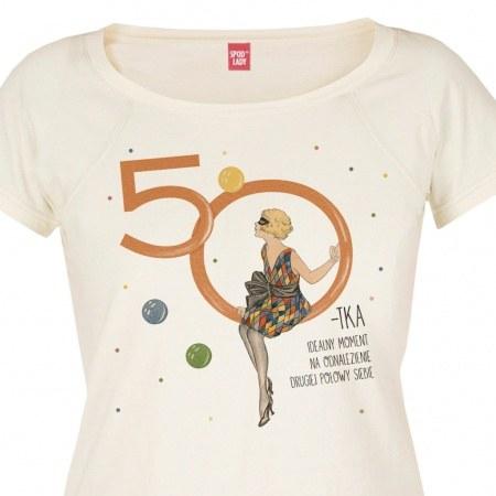 """Koszulka damska """"50-tka"""""""