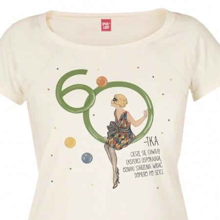 """Koszulka damska """"60-tka"""""""