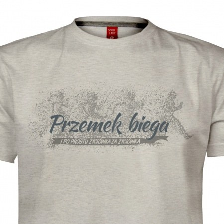 Personalizowana koszulka mêska dla biegacza