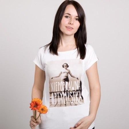 "Koszulka damska ""Optymistka"""