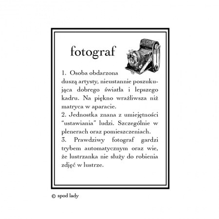 Kubek Fotografa