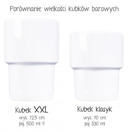 """Kubek barowy XXL """"Pani Kierowniczka"""""""