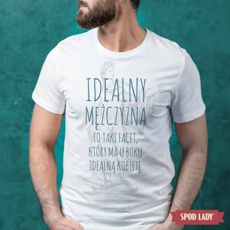 """Koszulka mêska """"Idealny mê¿czyzna"""""""