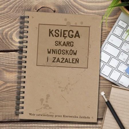 """Notes """"Ksiêga skarg, wniosków i za¿aleñ"""""""