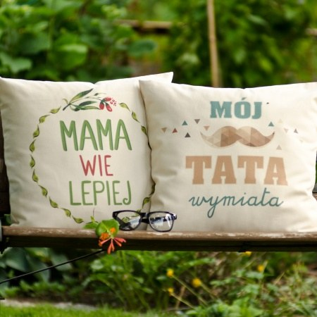 """Zestaw poduszek """"Mama i Tata"""""""
