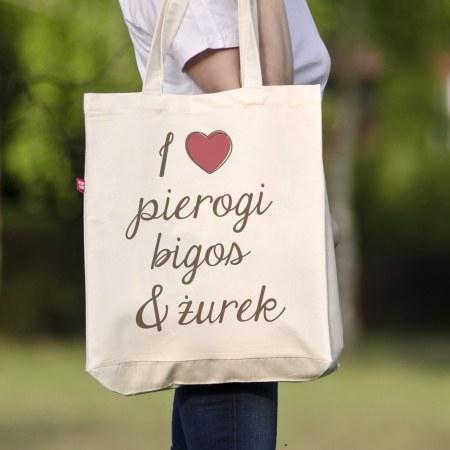 """Torba """"I love pierogi"""""""