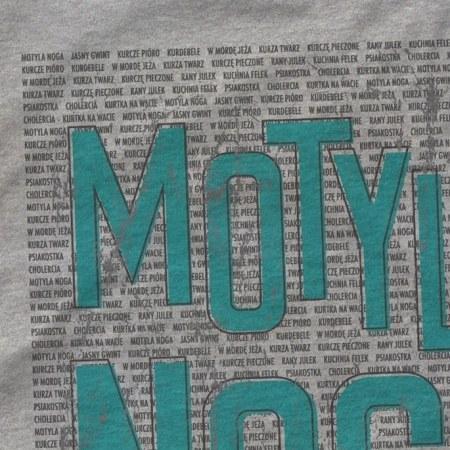 Koszulka mêska szara Motyla Noga