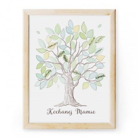 """Obrazek """"Drzewo"""" do podpisania"""