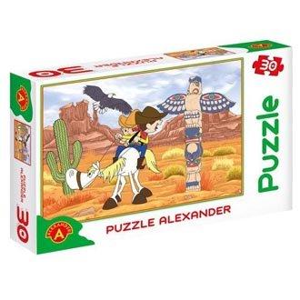 "Puzzle ""Bolek i Lolek Dziki Zachód"""