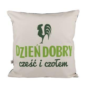 """Poduszka """"Dzieñ Dobry"""""""