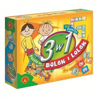 """Zestaw gier """"Bolek i Lolek"""" (3 w 1)"""