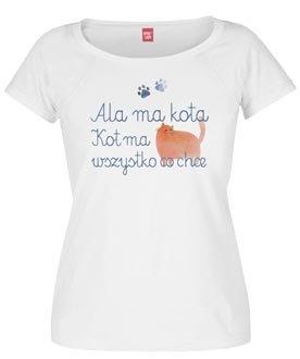 "Koszulka damska ""Ala ma kota"""